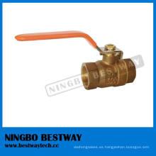 Válvula de bola de bronce de flujo completo LG2 / B62 / C83600 (BW-Q01A)