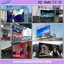 Écran LED de location polychrome extérieur de la Chine P8 (FCC)