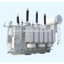 Drei-Phasen-Öl getaucht Typ Kupfer Wicklung Wunde Kern dämpfungsarm 35kv 66kv 110kv 132kV 220kV 21.6mva power Transformator
