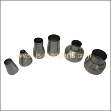 STAINLESS PIPE REDUCER 6`` - 4`` PIPE CHIMNEY FLUE STACK TRUCK VAN EXHAUST JOINER