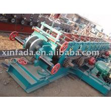 Machine de formage de rouleaux U Purlin, canal U; Machine à formage de rouleau en acier, machine à former des rouleaux en U