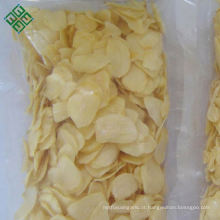 atacado granel chinês grau Um alho orgânico assado flocos com raiz no melhor preço