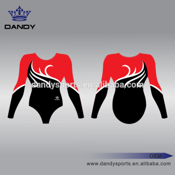 Sublimation Long Sleeve Training leotards