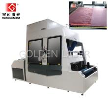 Velvet Fabric Laser Engraving Machine