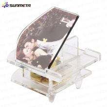 sublimation fancy crystal photo frame crystal wedding gift crystal trophy