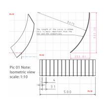 Sieve Bend Info / Cuña Plataforma de pantalla de alambre