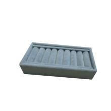 Grey Flocked Ring Holder Box Manufacturer Guangzhou (TY-9RP-GF)