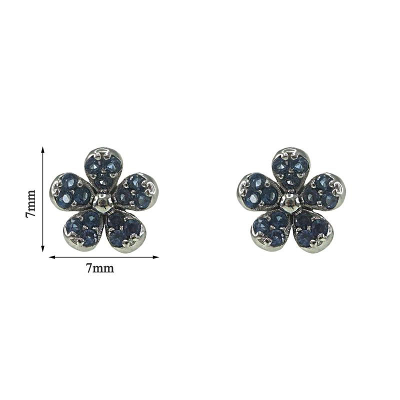 Pearl Sterling Silver Stud Earring
