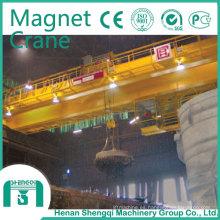 2016 Shengqi QC mecanografía el imán grúa de puente electromágnetico