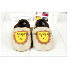 Baby Bear Lion: Leather Shoes
