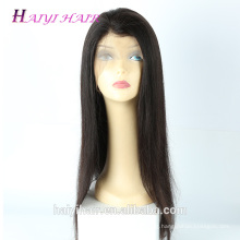 Cuticle Aligned Wholesale Free Shipping Brazilian Human Hair Baby Hair Glueless Wig Hair Full Lace Wig