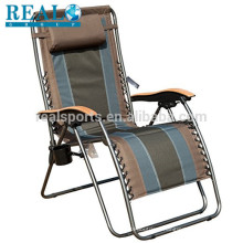 Outdoor Fabric Folding Chair Wholesale Gravity Lounge Chair Metal Chair Outdoor