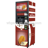 coins operate GTS104 Yinong 4 flavors with hot and cold coffee Vending Machines
