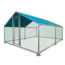 Factory Direct Sale Outdoor Farm Large galvanized Steel Poultry Hen Cage Chicken Coop 4x3x1.95M