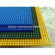 Especificação diferente e grade de fibra de vidro de cor