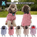 BONEPUPPY Bowtie Elengant Dog T Shirt Pet Puppy Cat Polo Shirt Apparel Clothes