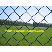 Clôture en fil de chaîne en plastique utilisée sur Stadium & Zoo