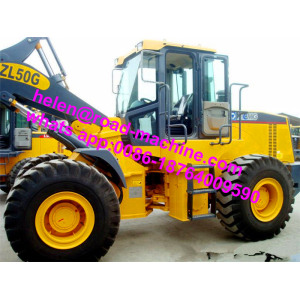 5 Ton ZL50GN Wheel Loader Dengan Rock Bucket