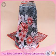 2017 lenço de cabelo de cetim de seda feminino novo design