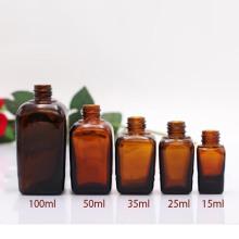 Botella cuadrada de aceite esencial (NBG06)