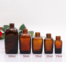 Bouteille d'huile essentielle carrée (NBG06)
