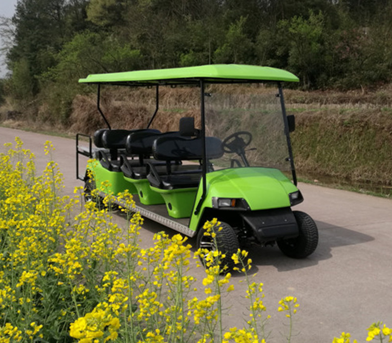 8 seater gas golf car para la venta