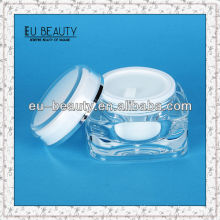 High quality acrylic jars cosmetic 50g
