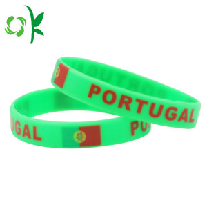 Custom Printing Bröllop Wristbands Festival Wristband Bangle