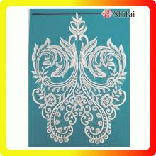 Customized for Wedding Appliques The popular embroidery flower lace export to Russian Federation Exporter