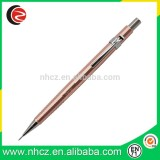 Promotional High quality and new design rose gold pencil for office and students