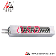 screw barrel for recycling machine/Extruder machine parallel screw barrel/double screw for extruder PVC PE PP ABS PET