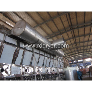 Continuous Horizontal Fluid Bed Dryer machinery