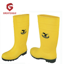 Cheap for Pvc Rain Boots Steel PVC Safety Gumboots supply to Chad Suppliers