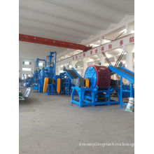 High Efficiency Waste Tire Recycling Equipment For Nylon Tires , 1000 - 10000t/year