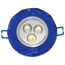 1*3W Blue Surface LED Home Interior Ceiling Light