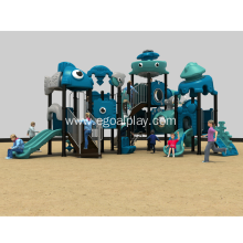 Urban Playground Slide Complex
