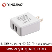 5V 3.1A 17W DC Doppel-USB-Reiseadapter