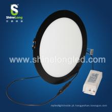 Lâmpada de luz de painel conduzida redonda preta do teto de Shenzhen