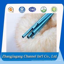 Bright Blue Anodized Aluminium Tubes for Tradeshow