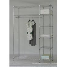 Barato Adjustable ropa percha ropa bastidor (LD12045180A3C)