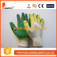 10 Gauge Cotton Gloves Latex Smooth Finished (DKL318)