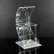 Mini Style acrylic bluetooth headphone display stand