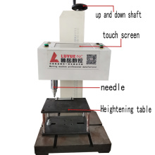 desktop Dot Peen Metal Label Plate Stamping Machine