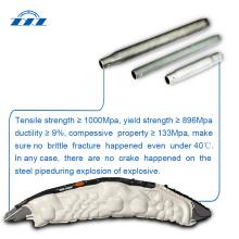 Tube d'airbag ZXZ pour pièces automobiles