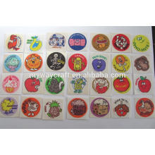 factory price scratch and sniff label sticker