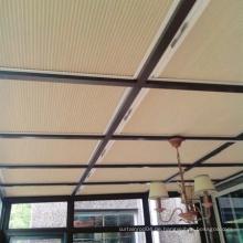 Motorisierte skylight Schatten Waben Jalousien