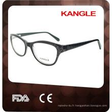 monture de lunettes en acétate à motif de dentelle