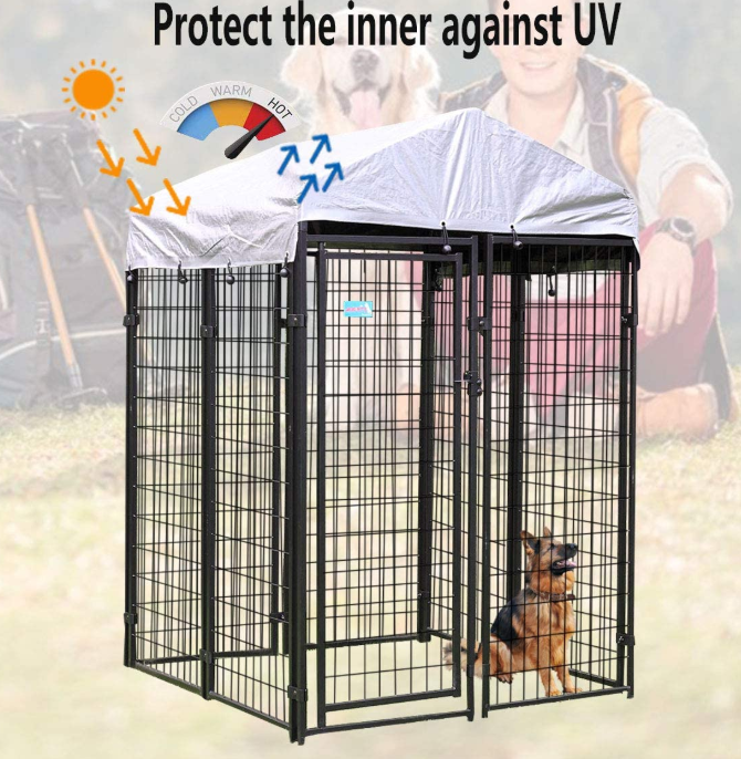 Steel Wire Dog Cages