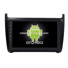 Núcleo Octa! Dvd do carro do android 7.1 para o POLO com a tela capacitiva de 9 polegadas / GPS / relação espelho / DVR / TPMS / OBD2 / WIFI / 4G