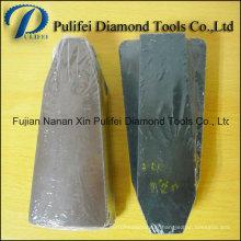 Brique de polissage de granit de Fickert de résine abrasive de diamant pour le polisseur automatique